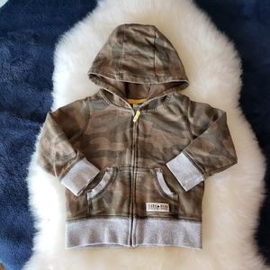 Carter's Zip Up Camouflage Hoody Jacket
